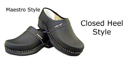 x Simson Dutch Made Leather Clogs (maestro) x