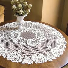 Cottage Rose Table Topper
