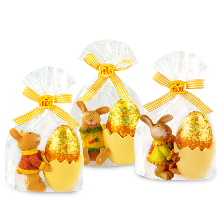 *Heidel Easter Egg Ceramic Cups w Choc egg (1only) (ONLY 4 LEFT)