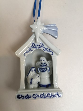 Kurt S Adler Nativity Scene Ornament