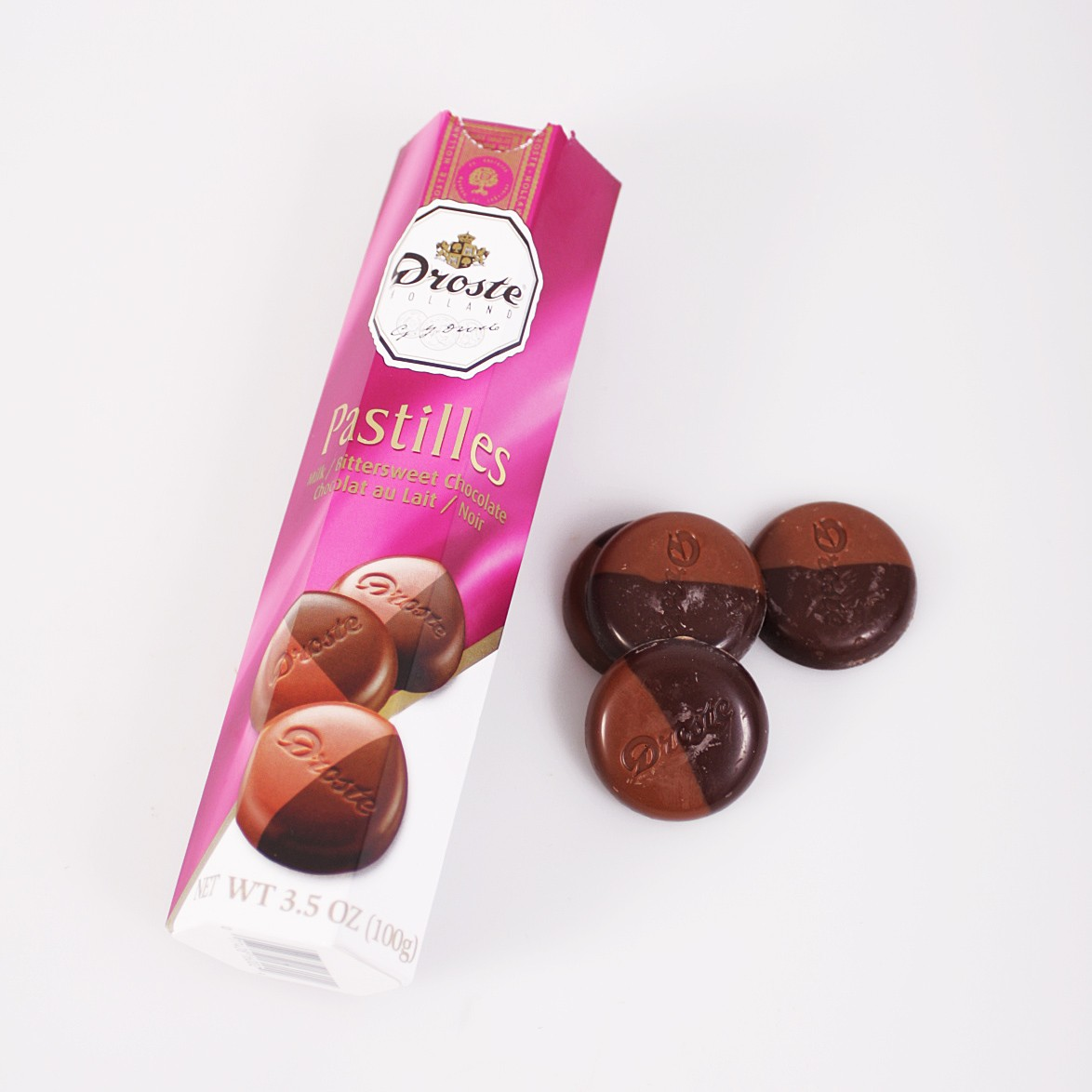Droste Milk/Dark Chocolate Pastilles