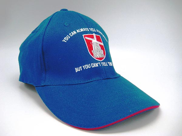 "Dutch Ball Cap ""You Can Always Tell a Dutchman...""(OUT OF STOCK)"