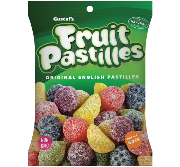 Gustaf's Fruit Pastilles (non-GMO) (Out of stock)