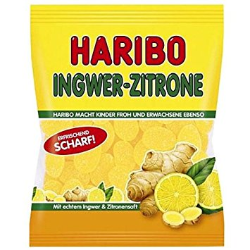 Haribo Ginger Lemon (SELL-BY JUNE 2018)