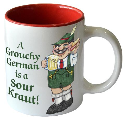 A Grouchy German Mug