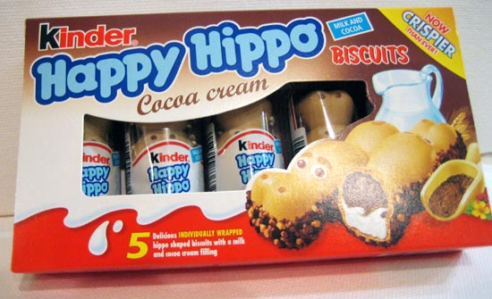 Kinder Happy Hippo Cocoa (SELL-BY 25 DECEMBER 2017) (10 LEFT)