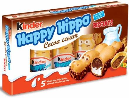 Kinder Happy Hippo (SELL-BY 5 NOVEMBER 2017)