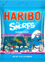 Haribo The Smurfs (SELL-BY JUNE 2018)