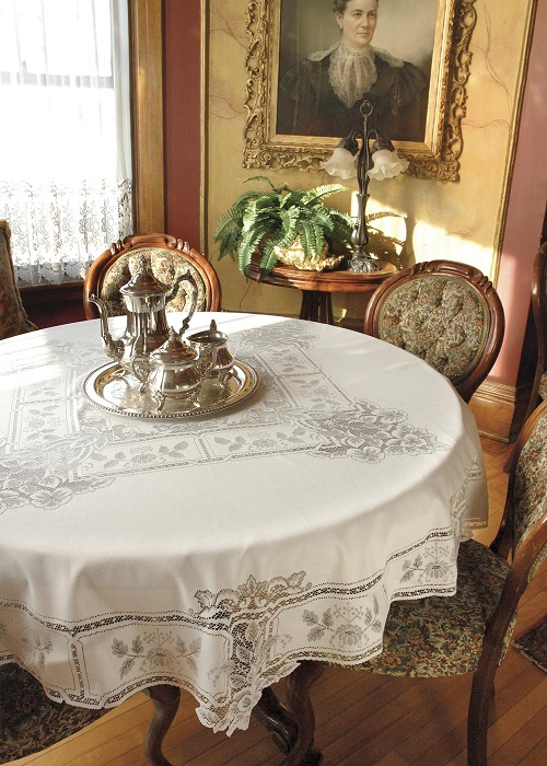 Heirloom Round Tablecloth
