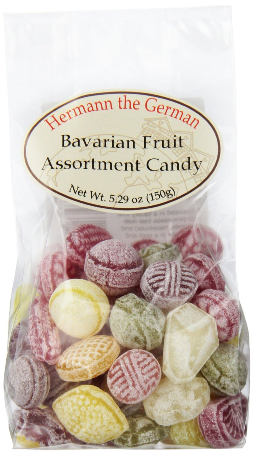 Hermann German Bavarian Fruit Candy