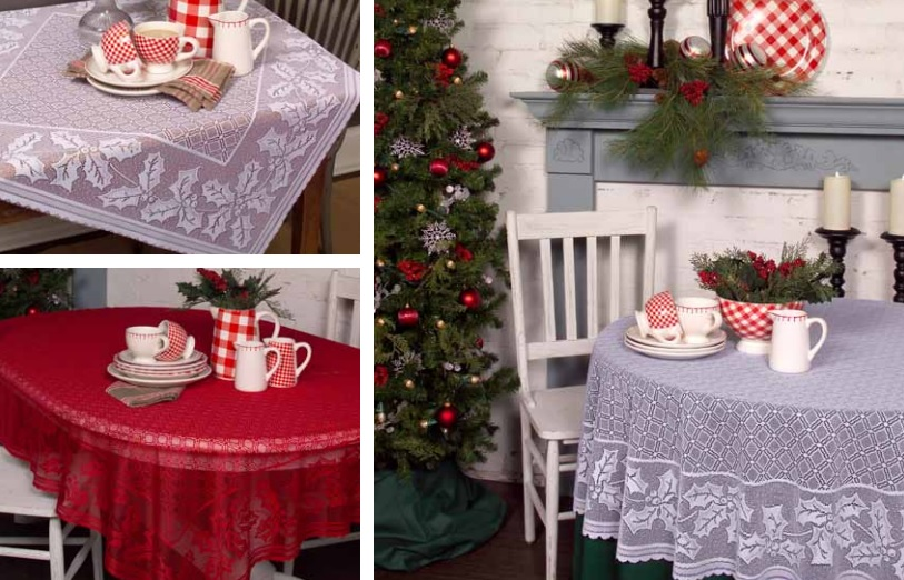 Holly Vine Table Textiles
