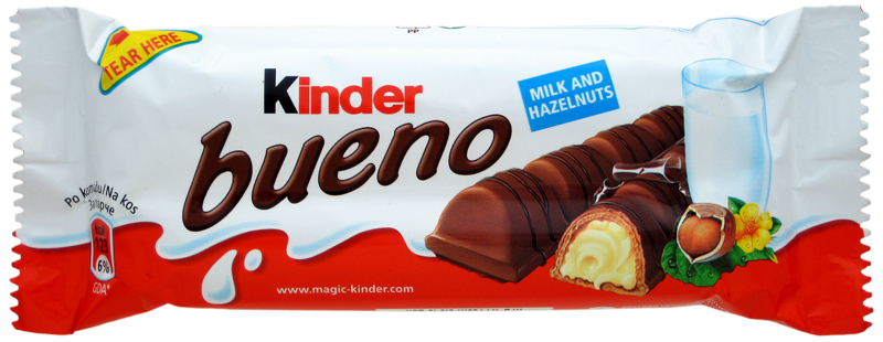 Kinder Bueno Bar (SELL-BY 15 NOVEMBER 2017)