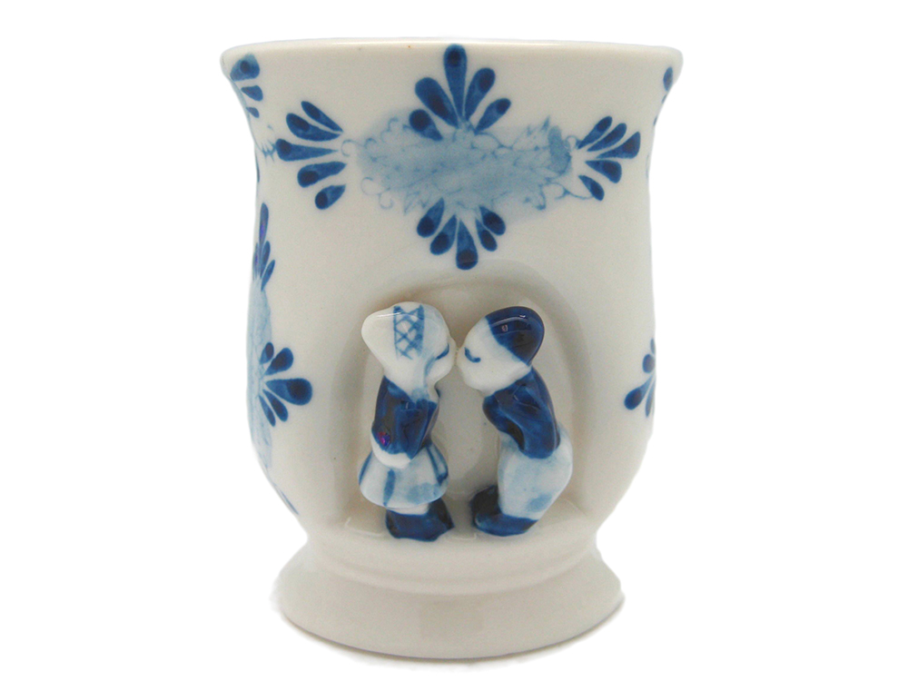 "Kissing Couple Cup/Vase 4""  (MINIMUM ORDER 40)"