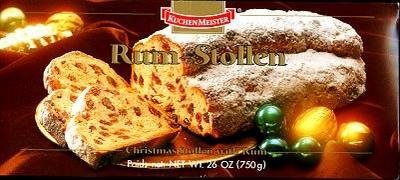 Kuchenmeister Rum Stollen 26.4oz (ONLY 2 LEFT)