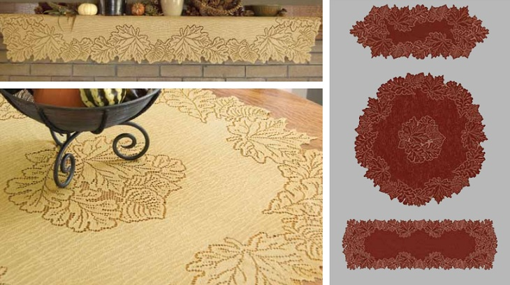 Leaf Table Textiles