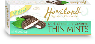 Haviland Dark Chocolate Covered Thin Mints (OUT OF STOCK)