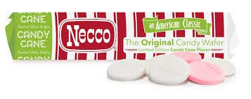 Necco Candy Cane Wafers