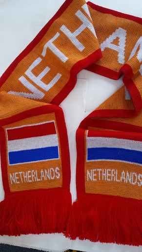 Netherlands Soccer Scarf (1 LEFT)
