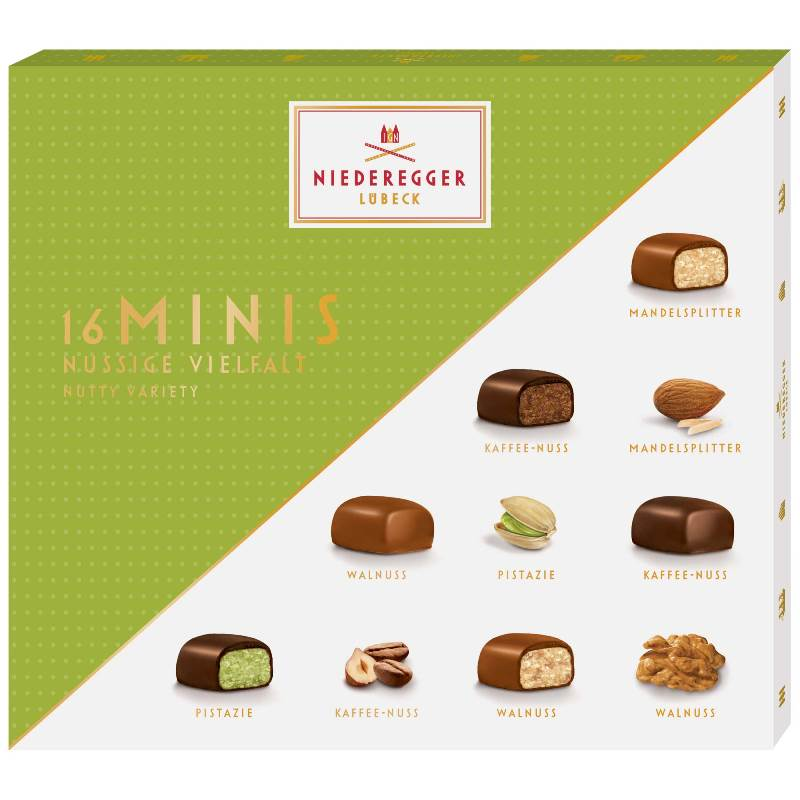 Niederegger 16 Mini's (nutty variety)