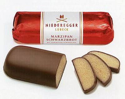 Niederegger Choc covered Marzipan Loaf 4.4 oz (SELL-BY JUN18)