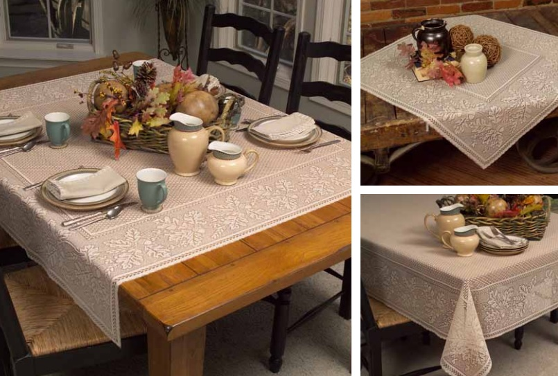 Oak Leaf Table Textiles