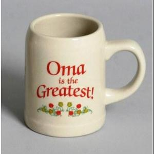 Oma is the Greatest Stein Mug (OUT OF STOCK)