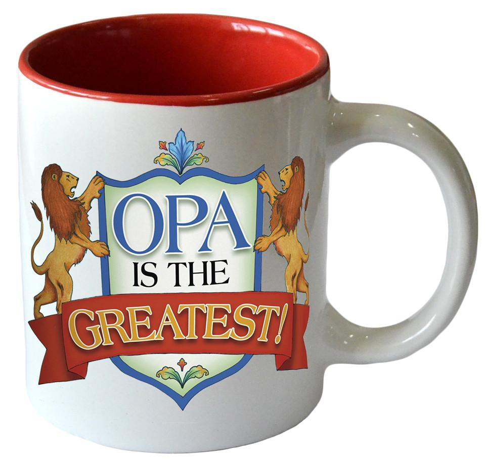 Opa is the Greatest Ceramic Mug (PRE-ORDER)