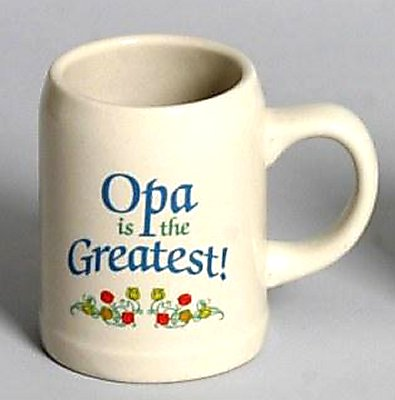 Opa is the Greatest Stein Mug (OUT OF STOCK)