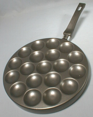 Teflon Poffertjes Pan