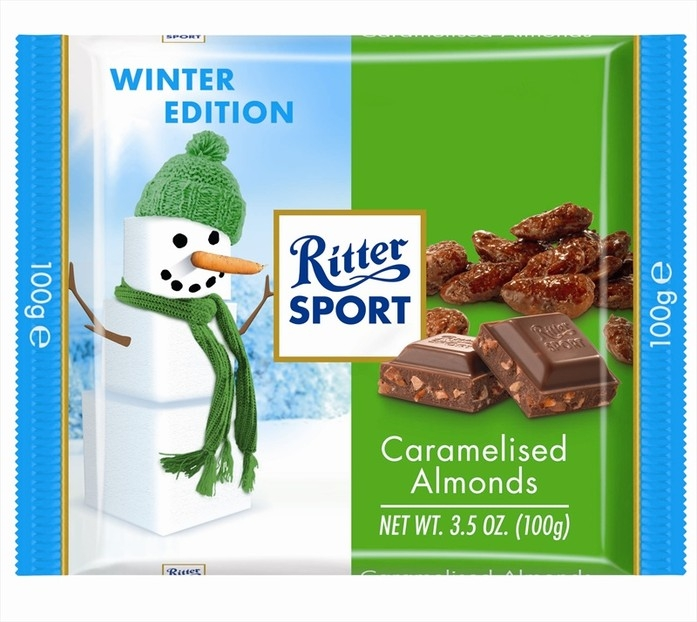 Ritter Sport Caramelized Almond Bar (PRE-ORDER)