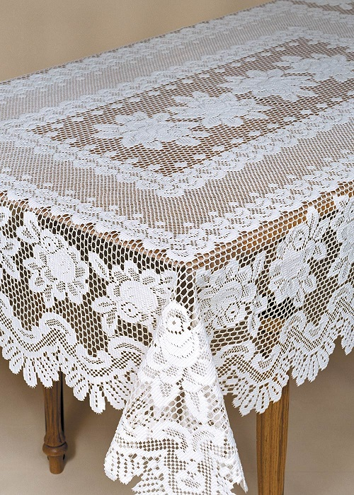 Rose Rectangle Tablecloths