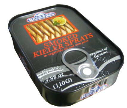 Rugenfisch Smoked Kieler Sprats (smoked herring) (ONLY 3 LEFT)