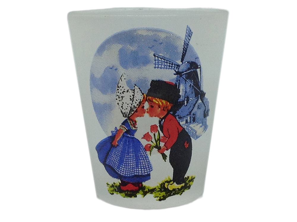 Dutch Couple Shot Glass   (MINIMUM ORDER 50)