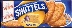 Verkade Shuttels Crackers (cheese & onion)