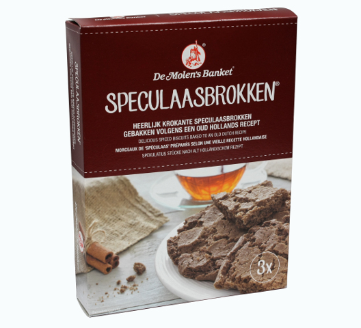 DeMolen Speculaas Brokken (4 LEFT FOR NOW)