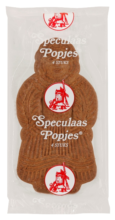 DeMolen Speculaas Popjes Cookies 4 pack (8 LEFT)