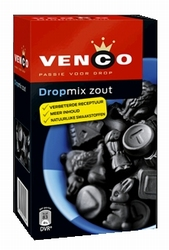 Venco Dropmix Zout (Salty) Box (blue)
