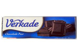 Verkade Puur (dark) Chocolate Bar