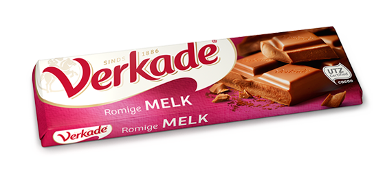Verkade Milk Chocolate Bar NEW LARGER SIZE 3.9 oz