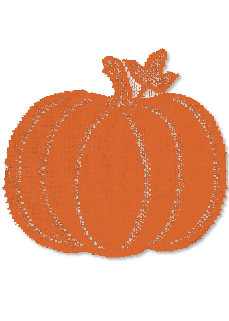 "Pumpkin Vine Doily 6x7"" (single) 30% OFF! (29 LEFT)"