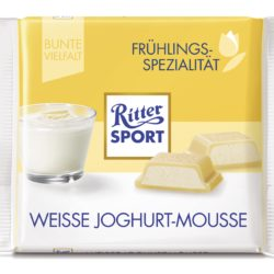 Ritter Sport White choc yoghurt mousse (SELL-BY 30NOV17) (9LEFT)