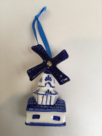 Blue/White Windmill (Oblong) (1 LEFT)