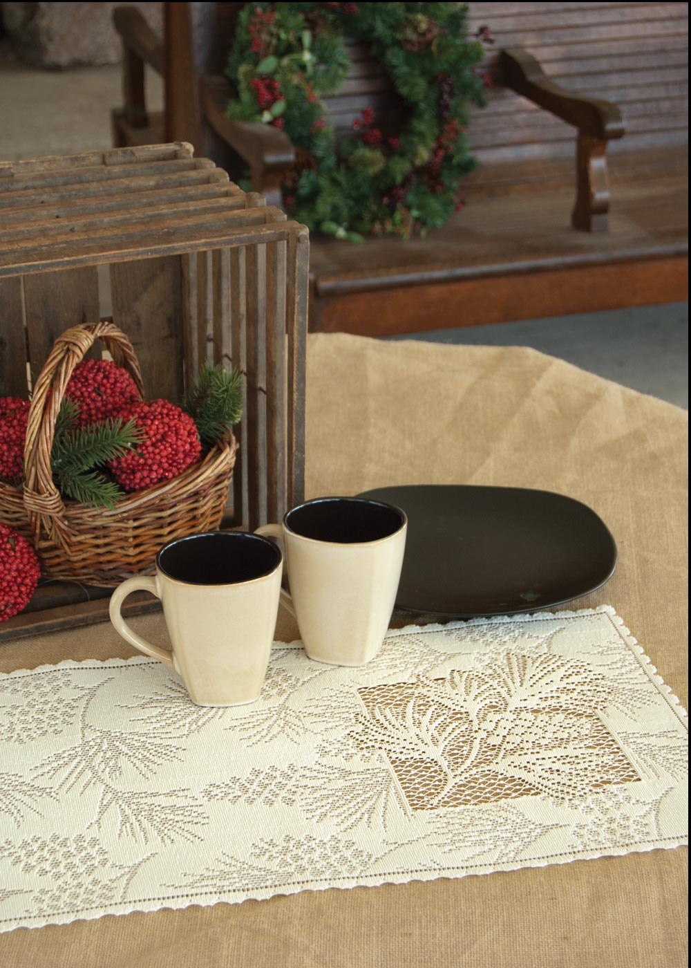 "Woodland Placemats (6 pack) 14"" x 20"""
