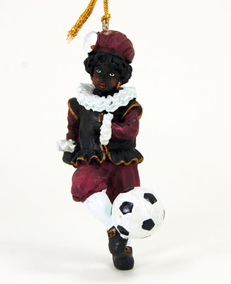 Piet w Soccer Ball Ornament