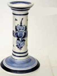 DeWit Delft Candleholders