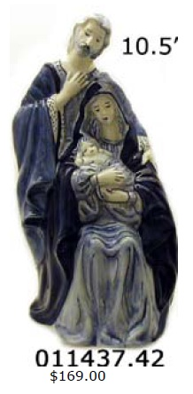 "DeWit Holy Family 10.5"" Statue (011437.42)"