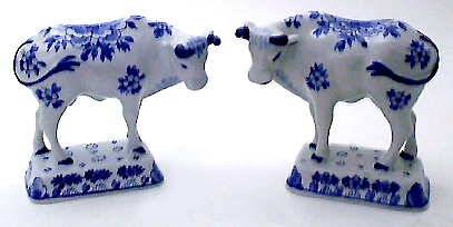 "De Porceleyne Fles Blue 4"" Small Cow (091068)"