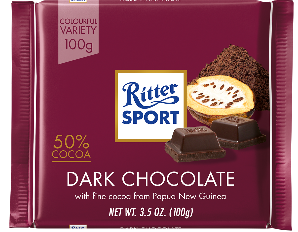 Ritter Sport 50% Dark Chocolate