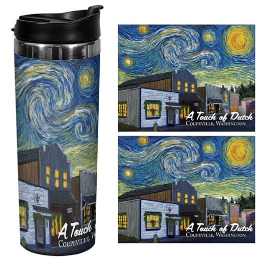 A Touch Of Dutch Starry Night 14oz Travel Mug