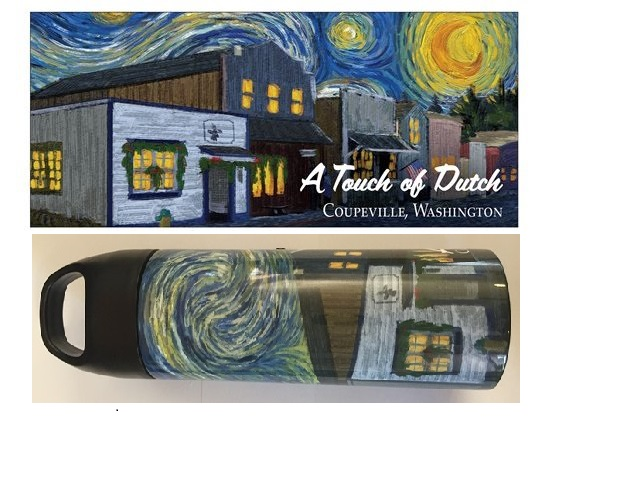 A Touch Of Dutch Starry Night 20oz Water Bottle